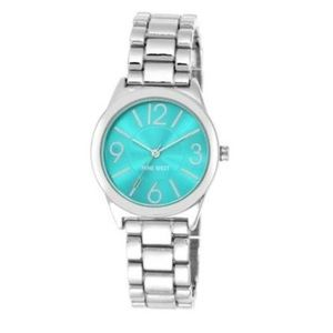 Nine West Teal Face Watch